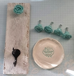 Rose home decor set