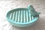 Bird Soap Dish Gift Teacher Gift Housewarming Vintage Design