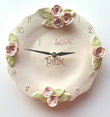 Unique Ceramic Clocks