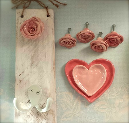 Valentine Gift Set Shabby Chic Rose Special